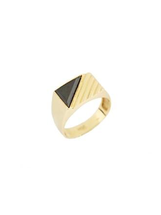 """Кольцо Золото 585"""" Оникс"""