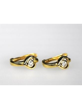 Серьги Золото 585 Бриллианты