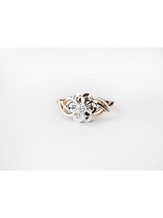 "Кольцо Золото 585"" с бриллиантом"