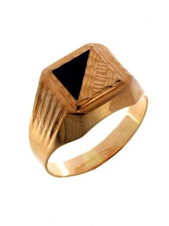 Перстень с вставкой