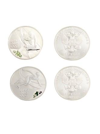 Памятные инвестиционные серебряные монеты
