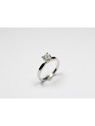 Кольцо бриллиант золото 585