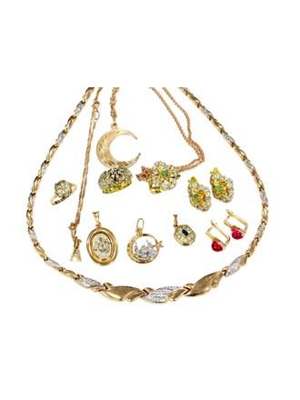 """Ювелирные украшения Золото 585"""" Бриллианты Изумруды Фианиты"""