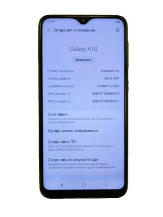 Смартфон Samsung Galaxy A10.