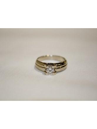 """Кольцо Бриллиант Золото 585"""""""