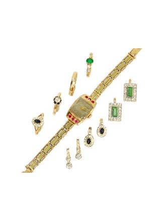 """Ювелирные украшения Золото 585"""" Бриллианты Сапфиры Изумруды"""