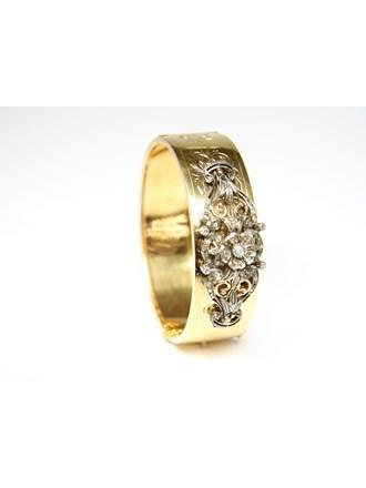 Браслет  Золото 750 Алмазные розы