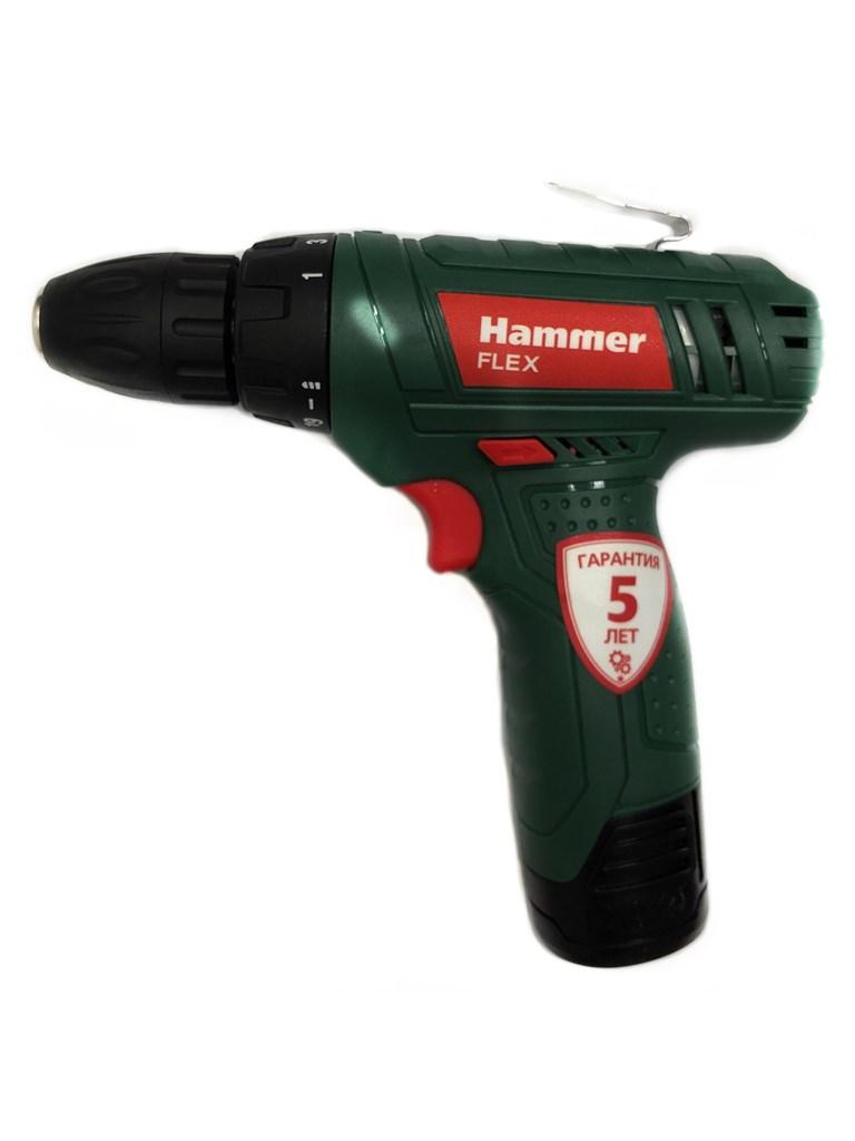 Аккумуляторная дрель Hammer Flex