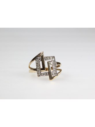 Кольцо Золото 585 Цирконы