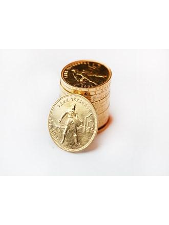 """Монеты 15 шт. Сеятель один червонец Золото 900"""""""
