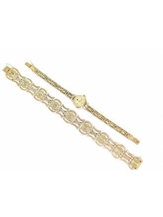 """Часы с браслетом  Браслет Золото 585"""""""