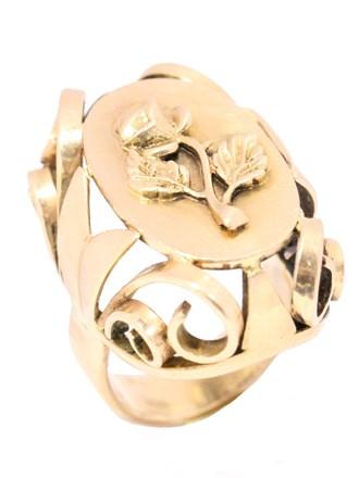 Перстень фигурный
