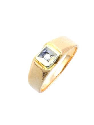 Перстень Бриллиантовая вставка