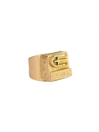 """Перстень Золото 585"""" (1 гр.- 817 руб.)"""