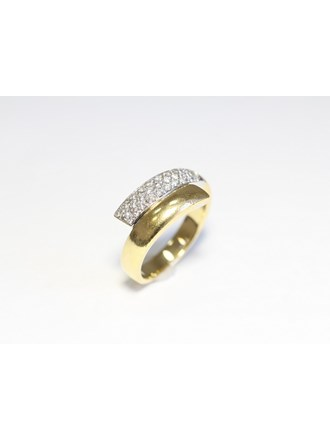 "Кольцо Золото 750"" Бриллианты"