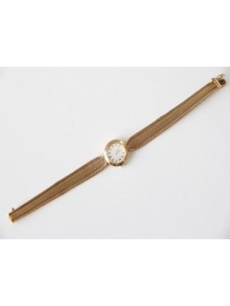 Часы OMEGA с браслетом золото 750