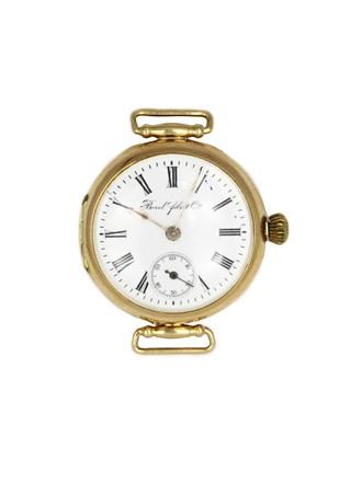 Часы Borel Fils & Cie, золото 56°