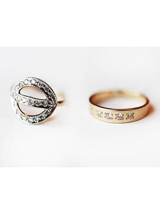 "Два кольца Золото 585"""