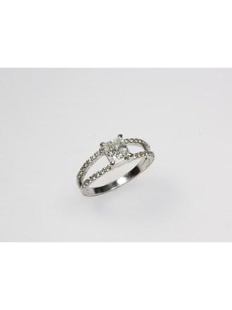 Кольцо Золото 585 Бриллианты