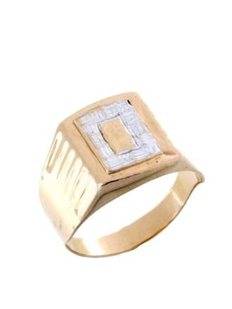 Перстень алмазная грань