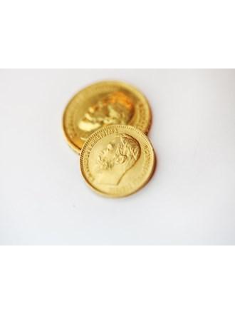 Две монеты 5руб (1904г.) и 10руб(1899г.) Золото 900