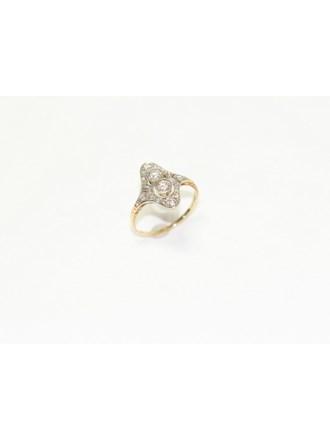 """Кольцо Золото 583"""" Бриллианты Алмазные Розы"""