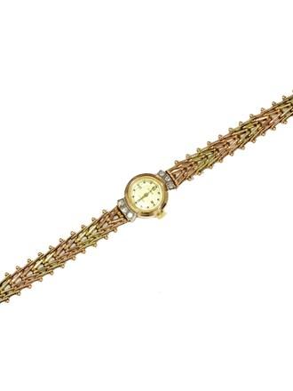 """Часы Чайка Золото 585"""" Бриллианты"""