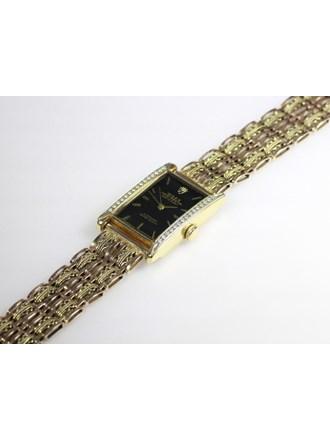 Часы с браслетом Золото 585 Бриллианты