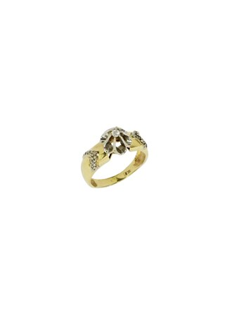 "Кольцо Золото 500"" Бриллианты"