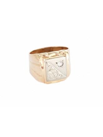 """Перстень Золото 585"""" Фианит"""