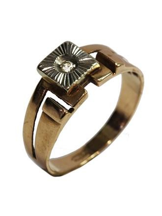 Кольцо фианит