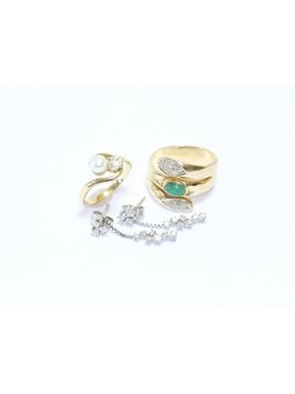 Ювелирные украшения Золото 585 Бриллианты Жемчуг
