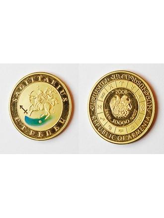 """Монета Стрелец Золото 900"""""""