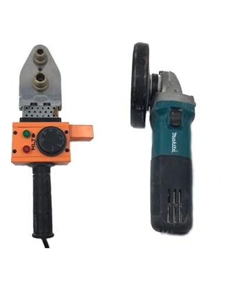 УШМ и Аппарат для сварки пластиковых труб
