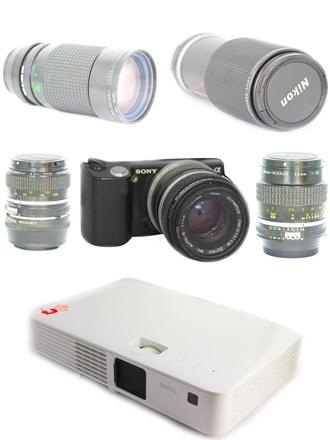 Фототехника и проектор