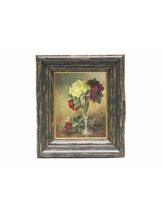 "Картина "" Натюрморт с розами"" Масло Холст"
