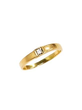 """Кольцо Золото 585"""" Фианит"""