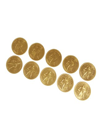 10 шт.монет