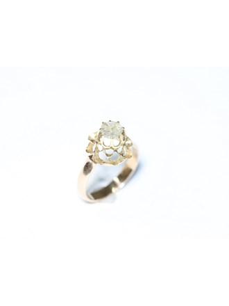"""Кольцо золото 56"""" Алмазная роза"""