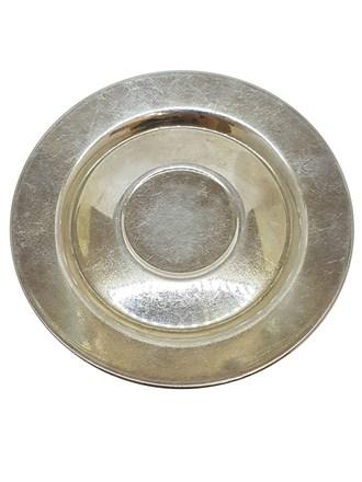 Столовое серебро, блюдце