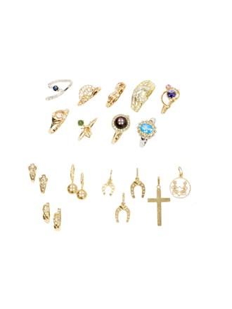 """Ювелирные украшения Золото 585"""" Бриллианты Сапфиры Фианиты"""