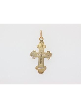 Крест православный Золото 585