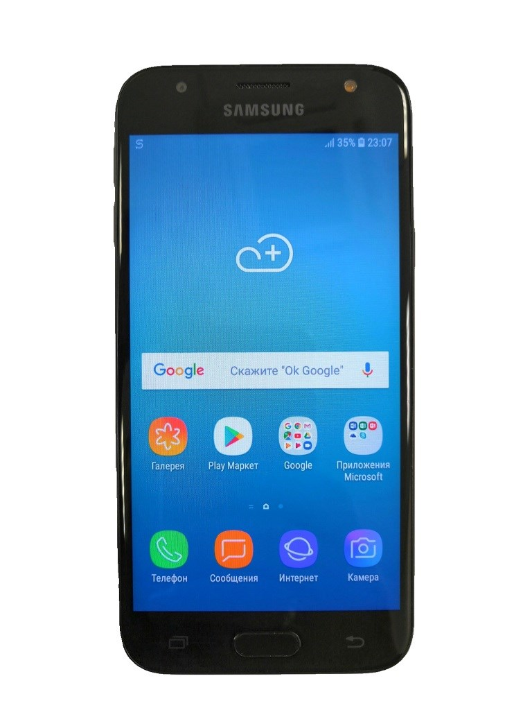 Смартфон Samsung Galaxy J3 (2017).
