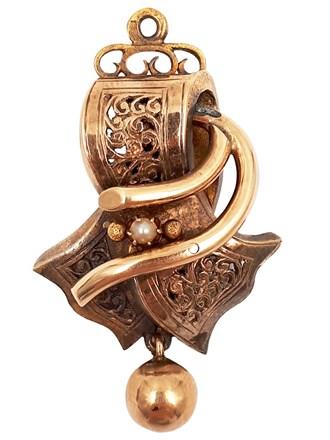 Деталь ювелирного украшения, золото 56°
