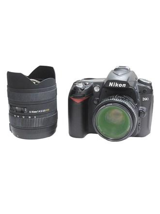 Фотоаппарат NIKON D90 2 объектива