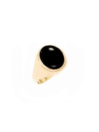 """Кольцо Золото 585"""" Агат"""