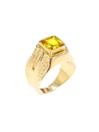 """Кольцо Золото 583"""" Корунд"""