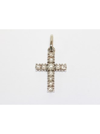 Крест Золото 585 Бриллианты