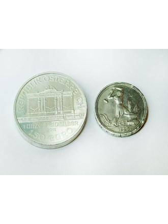 """Монеты 2 шт. Серебро 900"""""""