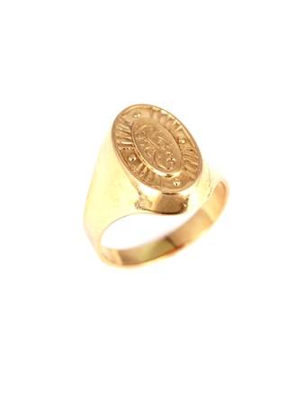Перстень с монограммой